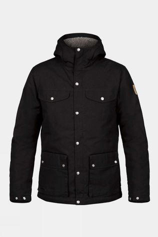 Fjallraven Mens Greenland Winter Jacket Black
