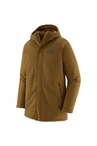 Patagonia Mens Lone Mountain Parka Mulch Brown