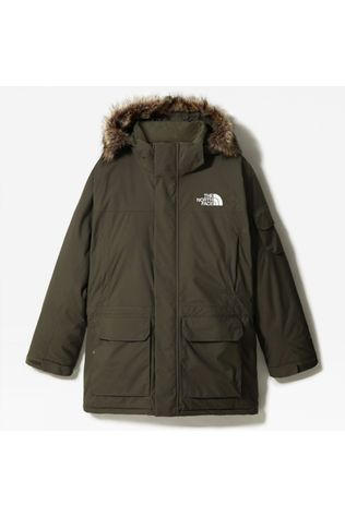 The North Face Mens Recycled Mcmurdo parka New Taupe Green