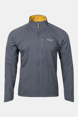 Rab Mens Vapour-rise Flex Jacket Steel