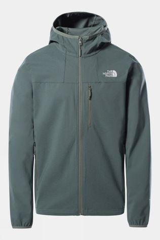 The North Face Mens Nimble Hoodie Agave Green