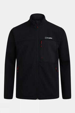 Berghaus Mens Ghlas 2.0 Softshell Jacket  Jet Black