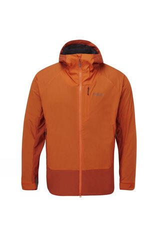 Rab Mens Vapour-Rise Summit Jacket Red Clay/Firecracker