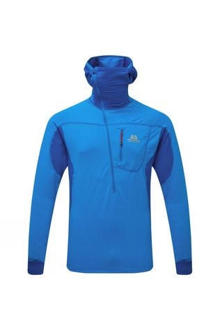 Mountain Equipment Eclipse Hooded Zip T Finch Blue/Lapis Blue