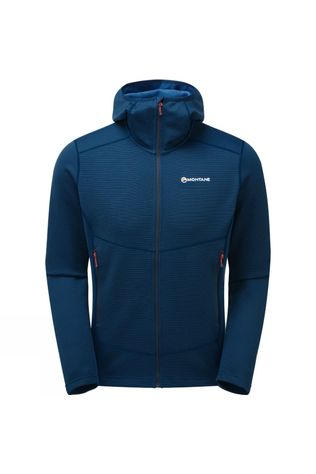Montane Mens Isotope Hoodie Narwhal Blue
