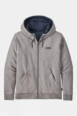 Patagonia Mens P-6 Label French Terry Full-Zip Hoody Feather Grey