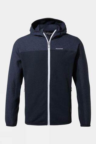 Craghoppers Mens Galway Hooded Jacket Blue Navy Marl / Blue Navy