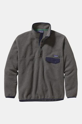 Patagonia Men's Synchilla Snap-T Pullover Nickel/Navy