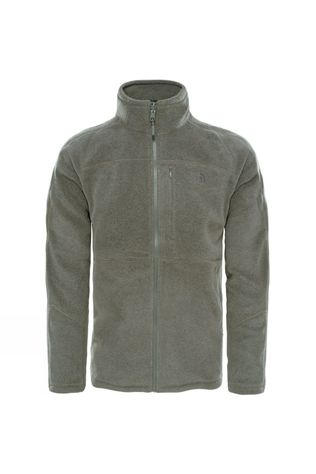 The North Face Mens 200 Shadow Full Zip Fleece TNF Medium Grey Heather