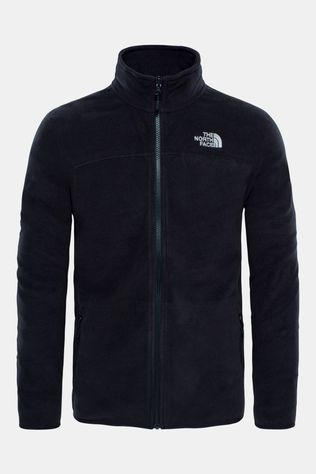 The North Face Mens 100 Glacier Full Zip Fleece TNF Black