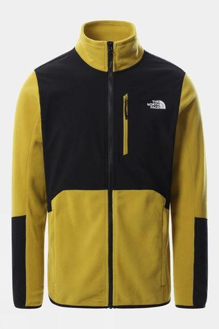 The North Face Mens Glacier Pro Full Zip Fleece Matcha Green/TNF Black