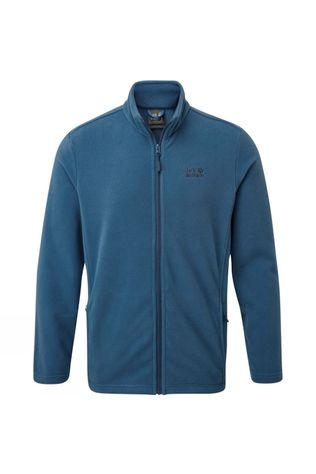 Jack Wolfskin Mens Blenheim Fleece Jacket Indigo Blue