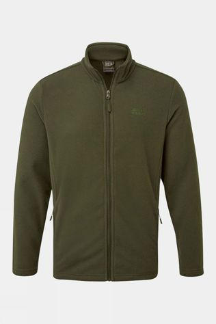 Jack Wolfskin Mens Blenheim Fleece Jacket Dark Moss