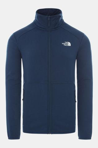The North Face Mens Quest Full Zip Fleece Blue Wing Teal