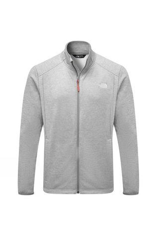 The North Face Mens Purna Fleece  Light Grey Heather