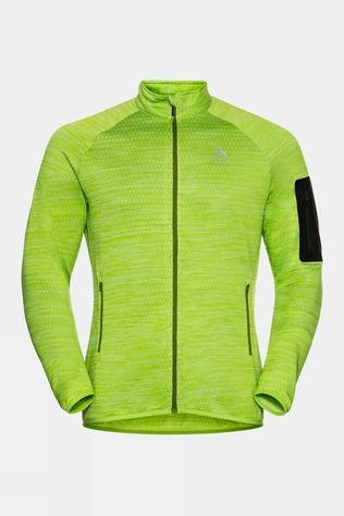 Odlo Mens Steam Midlayer Macaw Green Melange