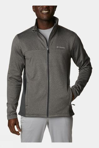 Columbia Mens Maxtrail Midlayer Fleece II City Grey, Shark, Shark Binding & Zips