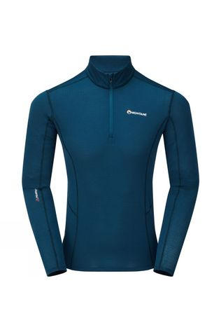 Montane Mens Allez Micro Pull-On Fleece Narwhal Blue