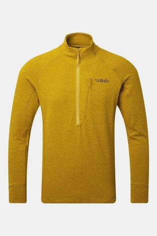 Rab Mens Nexus Pull-On Fleece Dark Sulphur