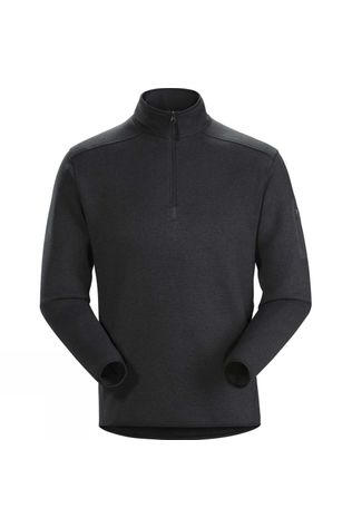 Arc'teryx Mens Covert 1/2 Zip Neck Fleece Black Heather