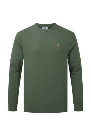 Tentree Classic Crew Forest Green Heather