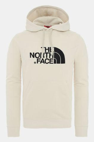 The North Face Mens Light Drew Peak Pullover Hoodie Vintage White/Tnf Black