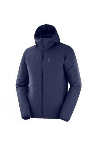 Salomon Mens Drifter Mid Hoodie Night Sky