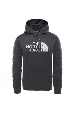 The North Face Mens Surgent Halfdome Pro Hoodie TNF Dark Grey Heather/Highrisegry