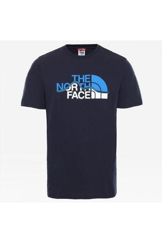 The North Face Mens Mountain Line Tee Aviator Navy