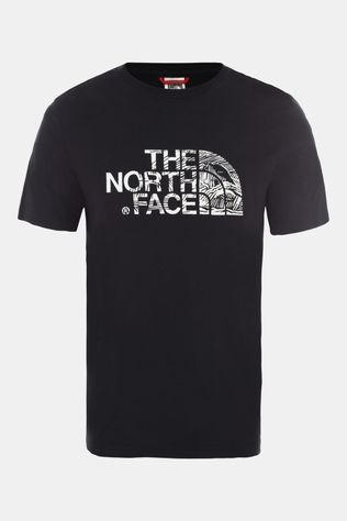 The North Face Mens Woodcut Dome T-Shirt TNF Black