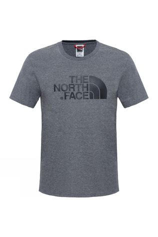 The North Face Mens Short Sleeve Easy Tee TNF Medium Grey Heather