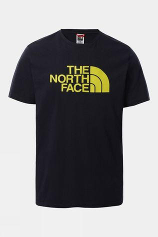 The North Face Mens Short Sleeve Easy Tee Aviator Navy/Citronelle Green
