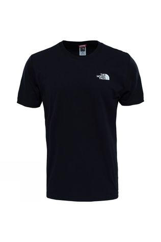 The North Face Mens Redbox Celebration T-Shirt TNF Black