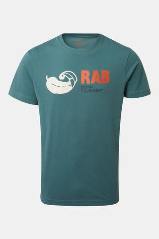Rab Mens Stance Vintage SS Tee Bright Arctic