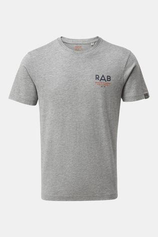 Rab Mens Stance Sunrise Short Sleeve Tee Grey Marl