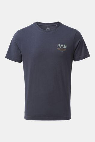 Rab Mens Stance Sunrise Short Sleeve Tee Deep Ink