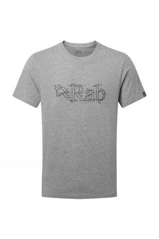 Rab Mens Stance Sketch T-shirt Grey Marl