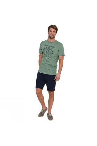 Brakeburn Hiking T-Shirt Green