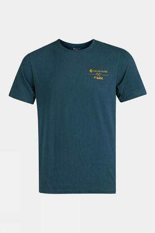 Montane Mens Gear T-Shirt Orion Blue