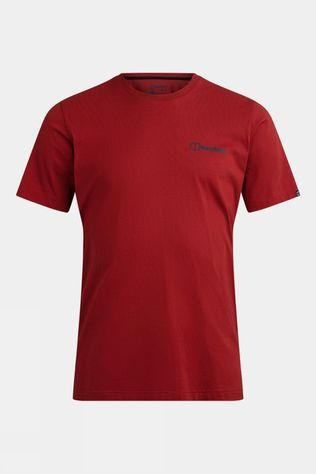 Berghaus Colour Logo Short Sleeve T Shirt Red Ochre