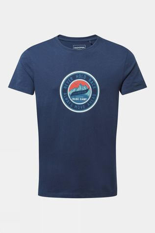 Craghoppers Mens Mightie Tee Blue Navy Circle