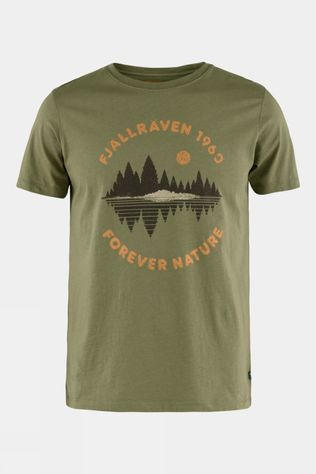 Fjallraven Mens Forest Mirror Tee Green