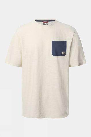The North Face Mens Short Sleeve Campen Tee Vintage White
