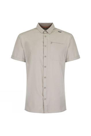 Regatta Mens Kioga Short Sleeve Shirt Parchment