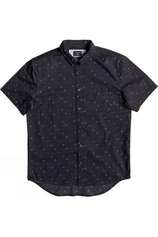 Quiksilver Mens Rock The Road Short Sleeve Shirt Tarmac