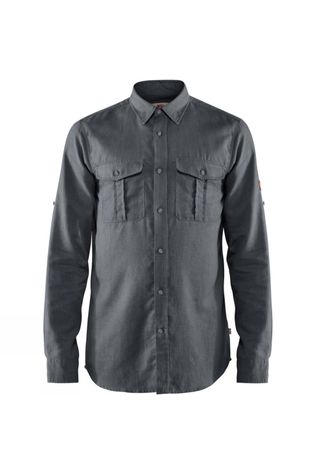 Fjallraven Mens Övik Travel Shirt Dusk