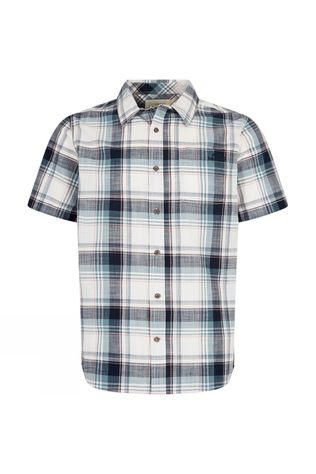 Mens Modbury Slub Check Shirt