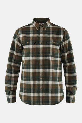 Fjallraven Mens Singi Heavy Flannel Shirt Deep Forest