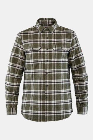 Fjallraven Men's Övik Heavy Flannel Shirt Deep Forest