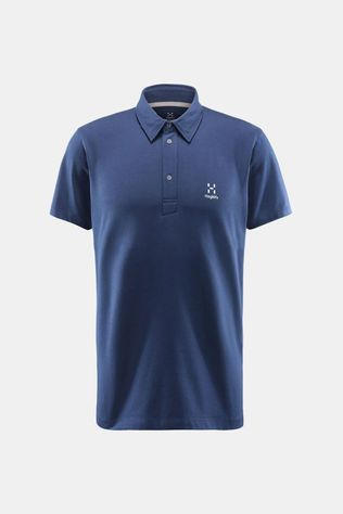 Haglofs Mens Mirth Polo Tarn Blue